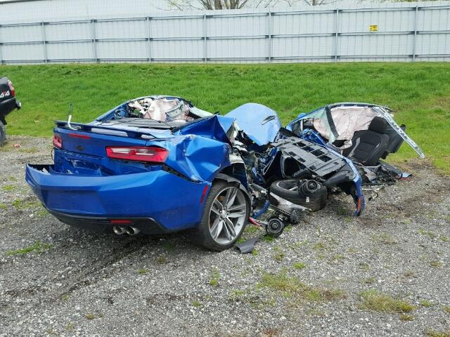 Totalled 6th Gen Camaro, Maybe the First? - GM Inside News