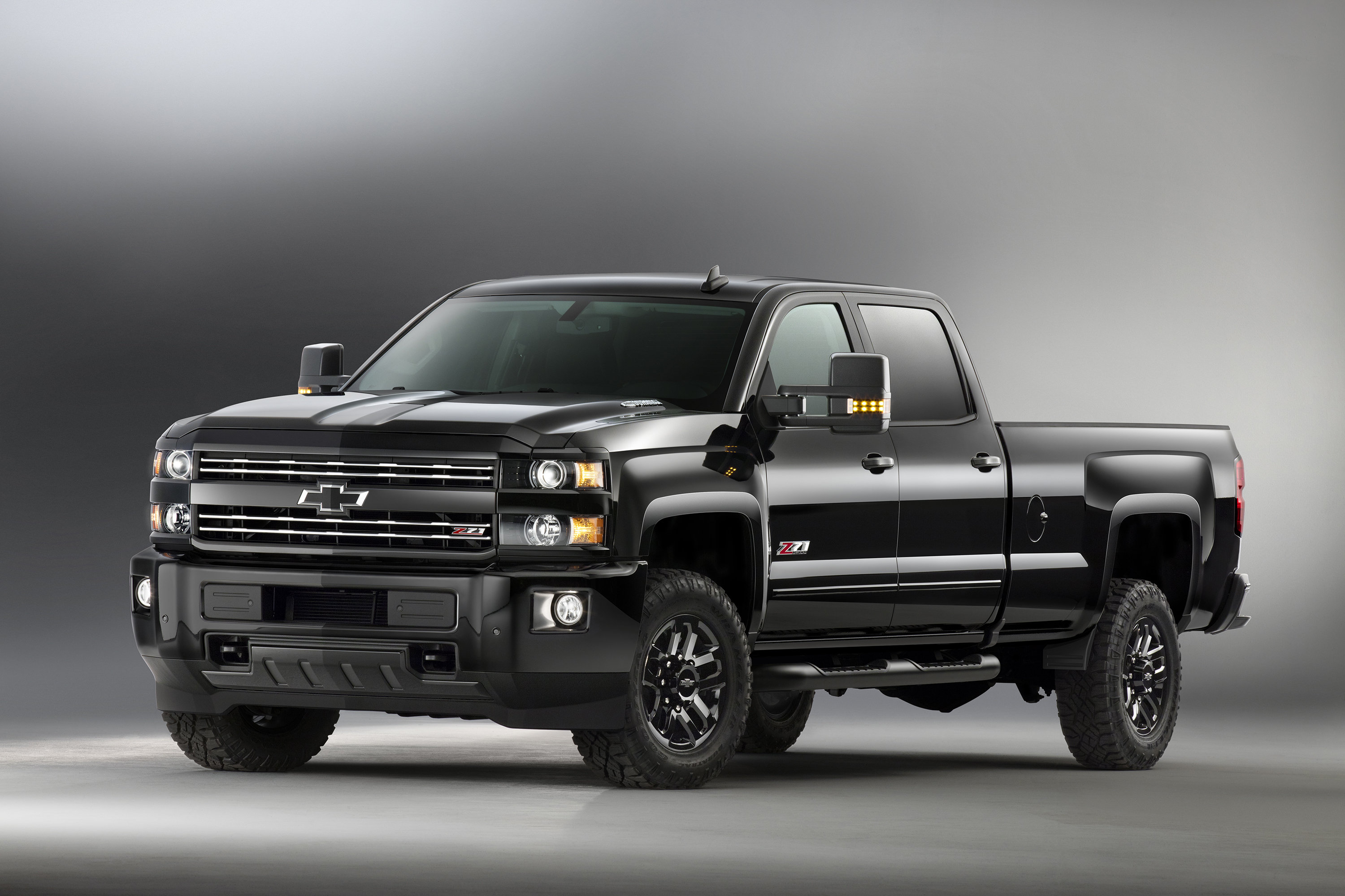 Introduced in September, 2016, the 2016 Chevrolet Silverado2500 HD Z71 Midnight Edition combines off-road equipment with a monochromatic black appearance. Is is part of a portfolio of special-edition trucks whose popularity helped Chevrolet truck sales increase 27 percent in 2015 - double the increase for the total truck market.