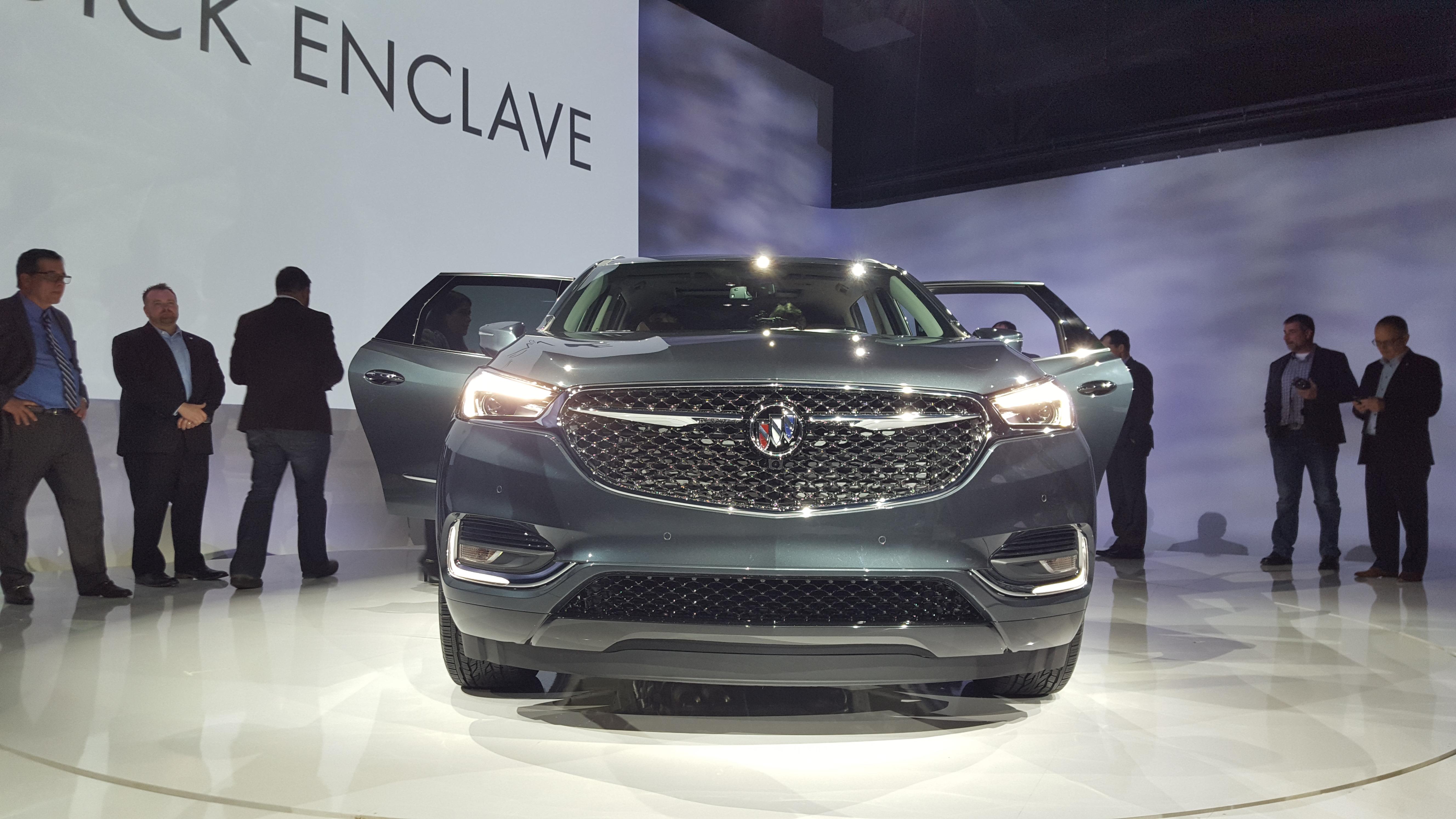 Meet the 2018 Buick Enclave Avenir... - GM Inside News