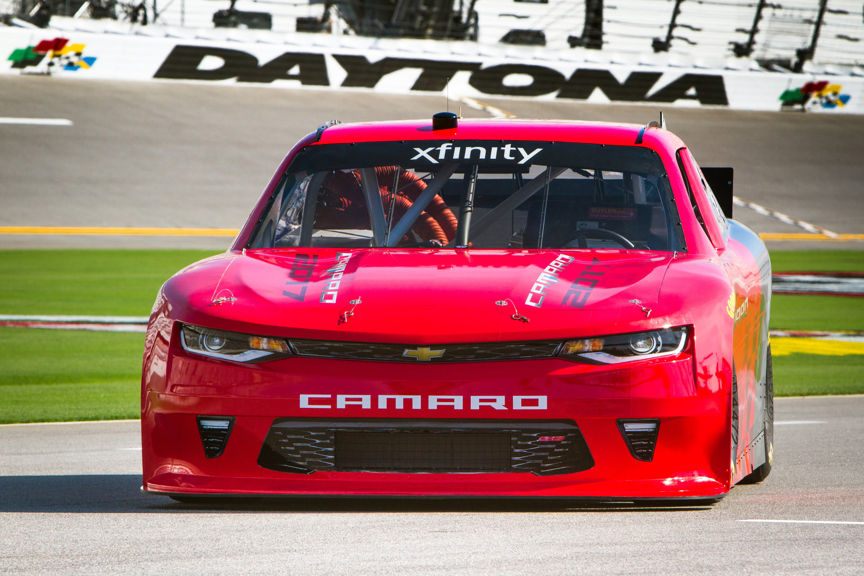 Chevrolet announces Thursday, June 30, 2016, that the sixth-generation Camaro SS will serve as the model for Chevrolet race cars in the NASCAR XFINITY series starting next season. The official racing debut comes in February at the 2017 seasonÕs kickoff race at Daytona International Speedway. (Photo by Alexis Meadows for Chevy Racing)
