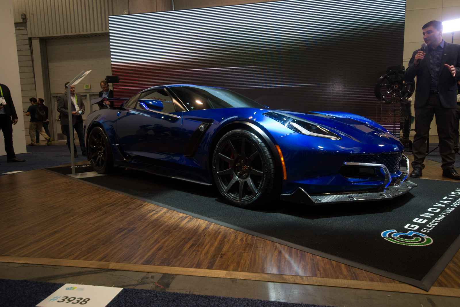The Genovation Gxe Is An 800 Hp Electric Ed Chevrolet Corvette C7 Grand Sport Using Two Motors And A 61 6 Kwh Battery It S Capable Of Topping 220