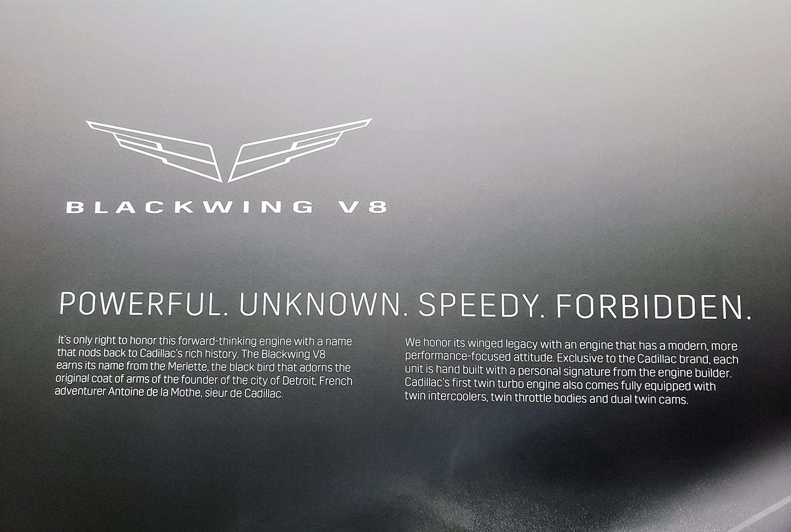 Cadillac Confirms Blackwing Logo At La Auto Show Gm Inside News