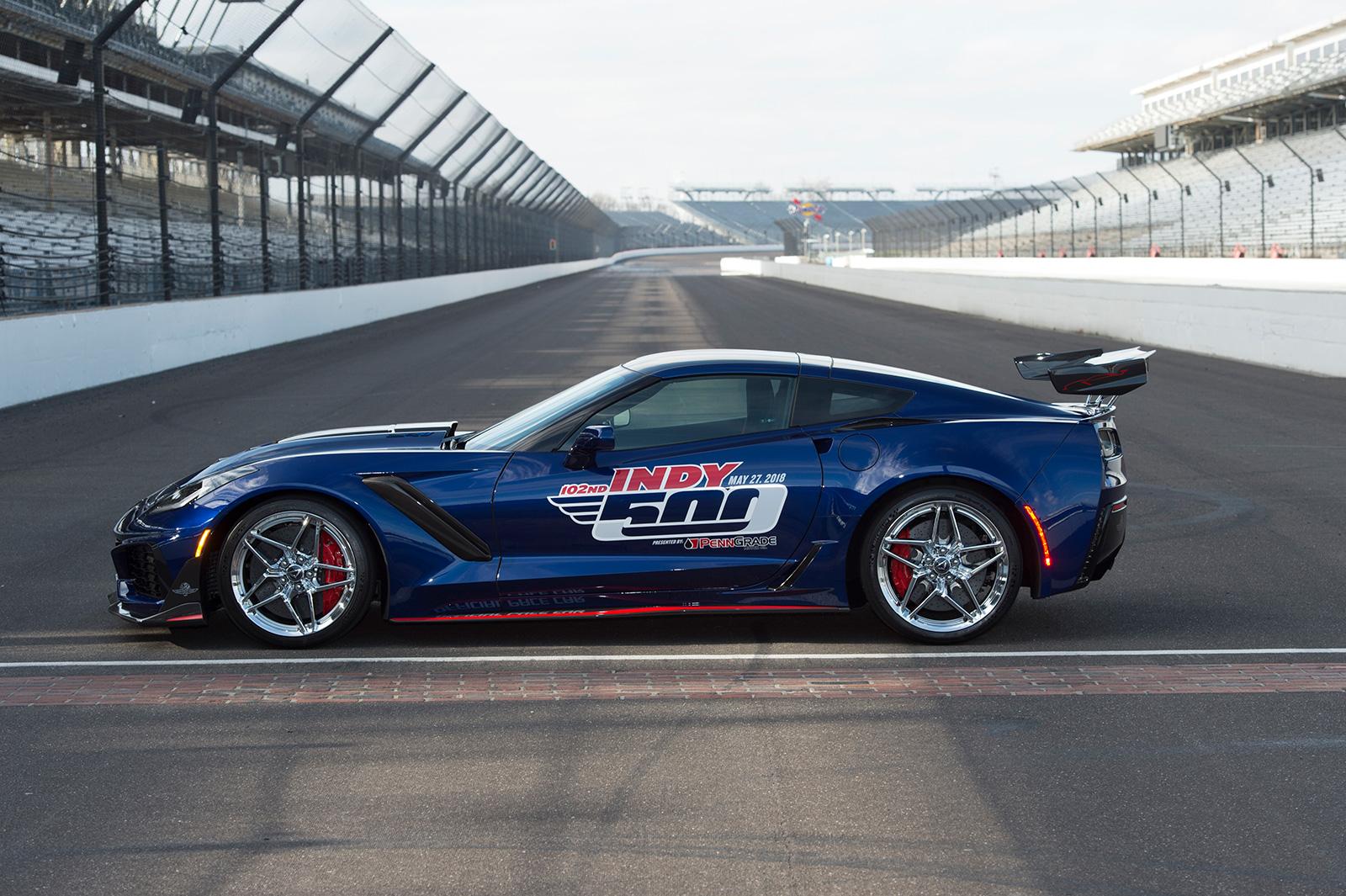 New 2019 Corvette Zr1 >> 2019 Chevrolet Corvette ZR1 Named Indy 500 Pace Car - GM Inside News