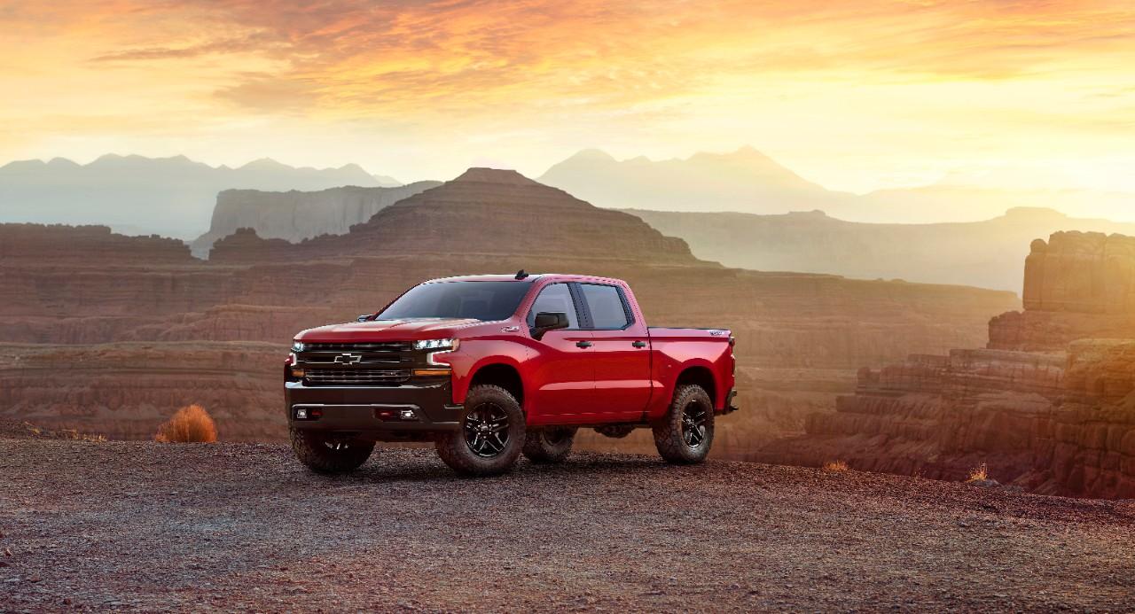 2019 Chevrolet Silverado Trail Boss Revealed at ...