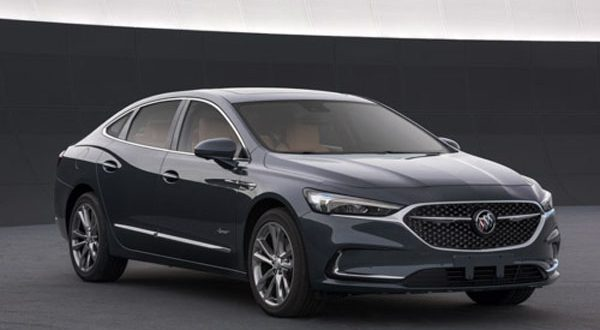 2020 Buick LaCrosse Leaked From Chinese Government Website ...