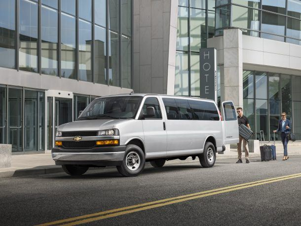 Chevy Express Gains New Engine - GM Inside News