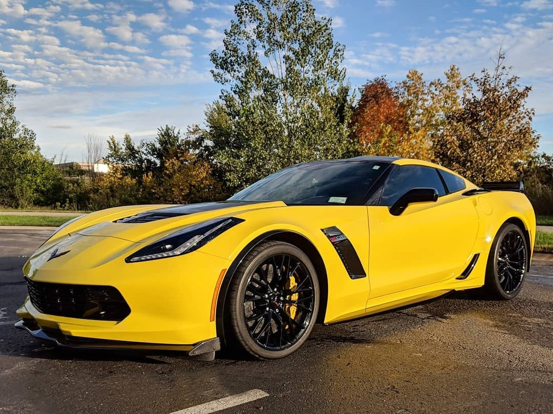 Hertz 100th Anniversary Edition Corvette Z06 Rentals Going ...