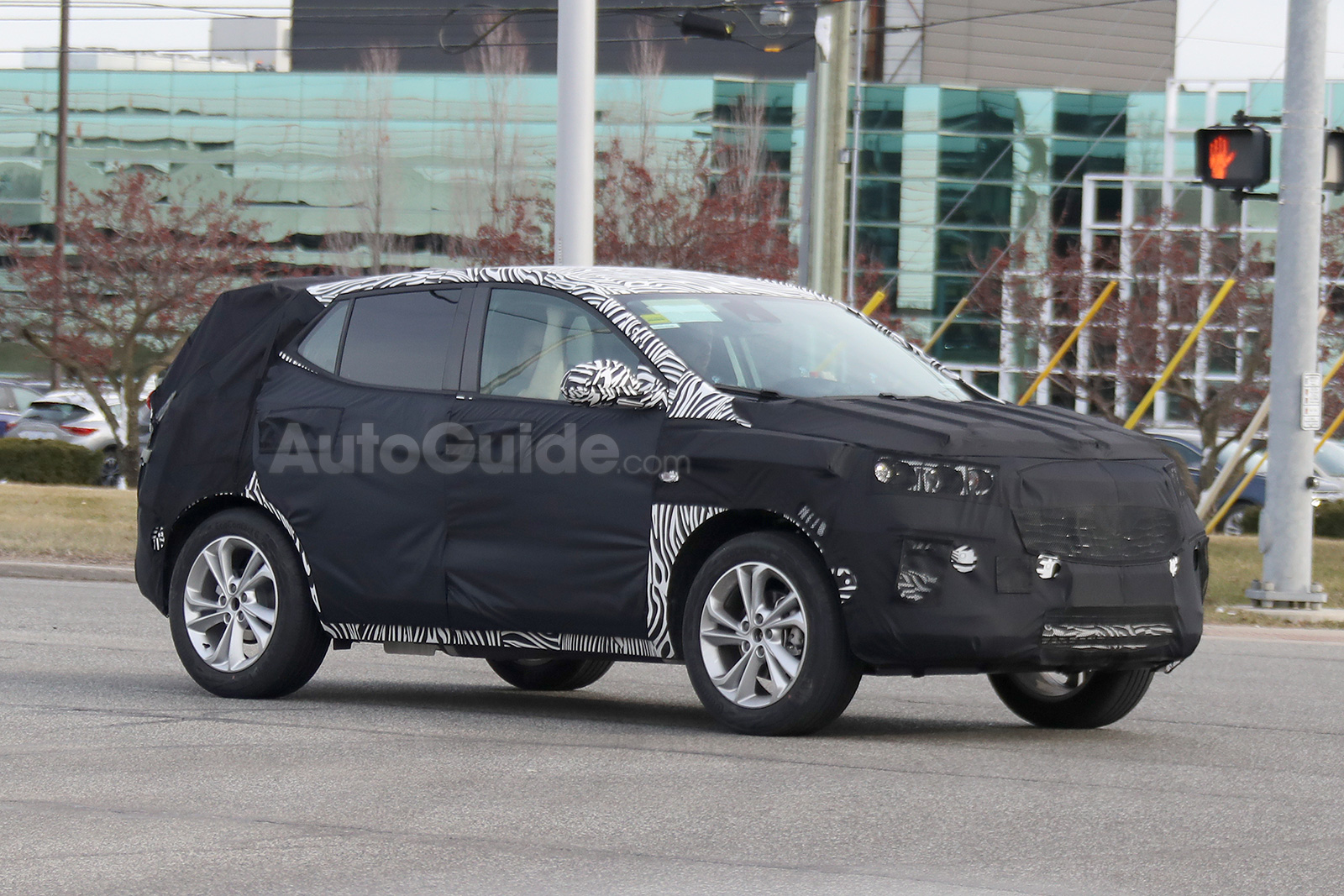 2020 Buick Encore Breaks Cover While Testing In Detroit Gm Inside News