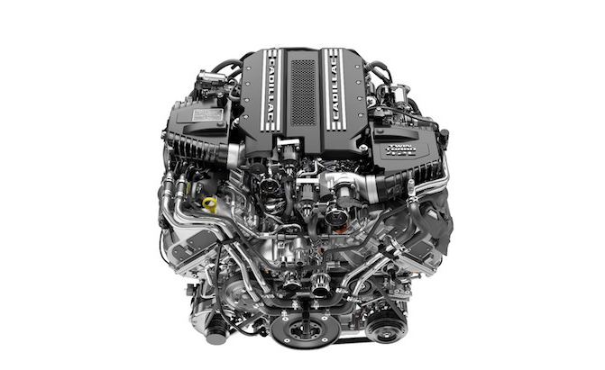 Cadillac Introduces 4.2L Twin Turbo V8 With 550 HP and 627 ...
