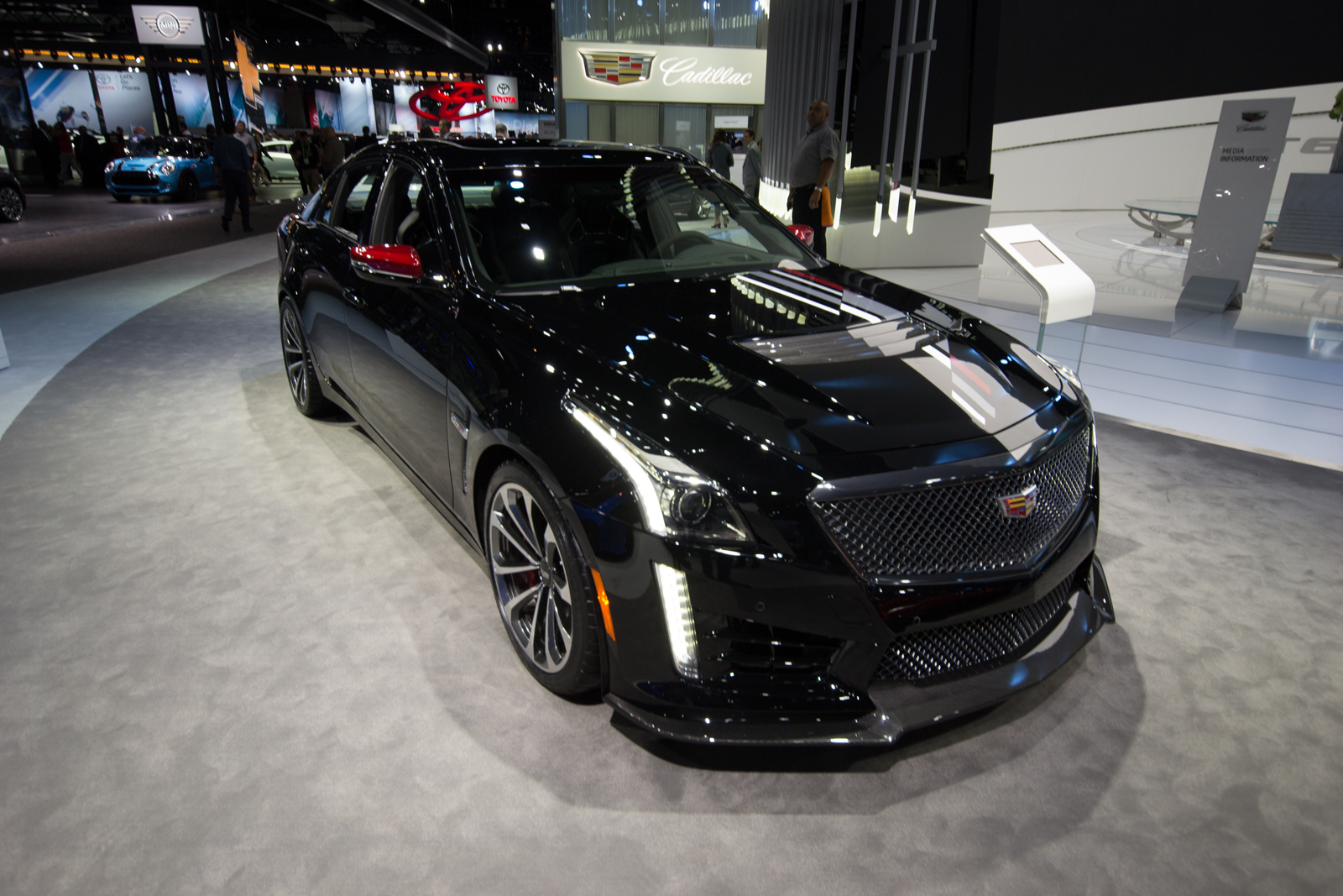 Cadillac celebrates 115 years with the 2018 cts v glacier metallic edition gm inside news - Cadillac cts v glacier metallic edition ...