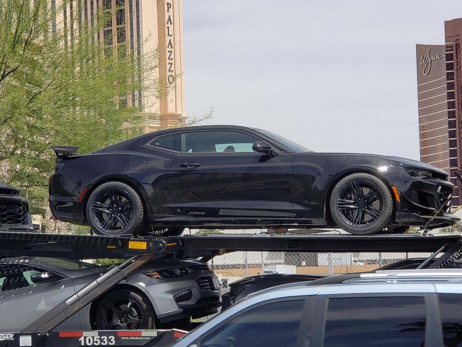 2019 Chevrolet Camaro ZL1 Spotted in Las Vegas - GM Inside ...