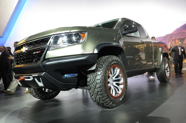 Chevrolet Colorado ZR2 Will Show Up in 2017- CARB ...
