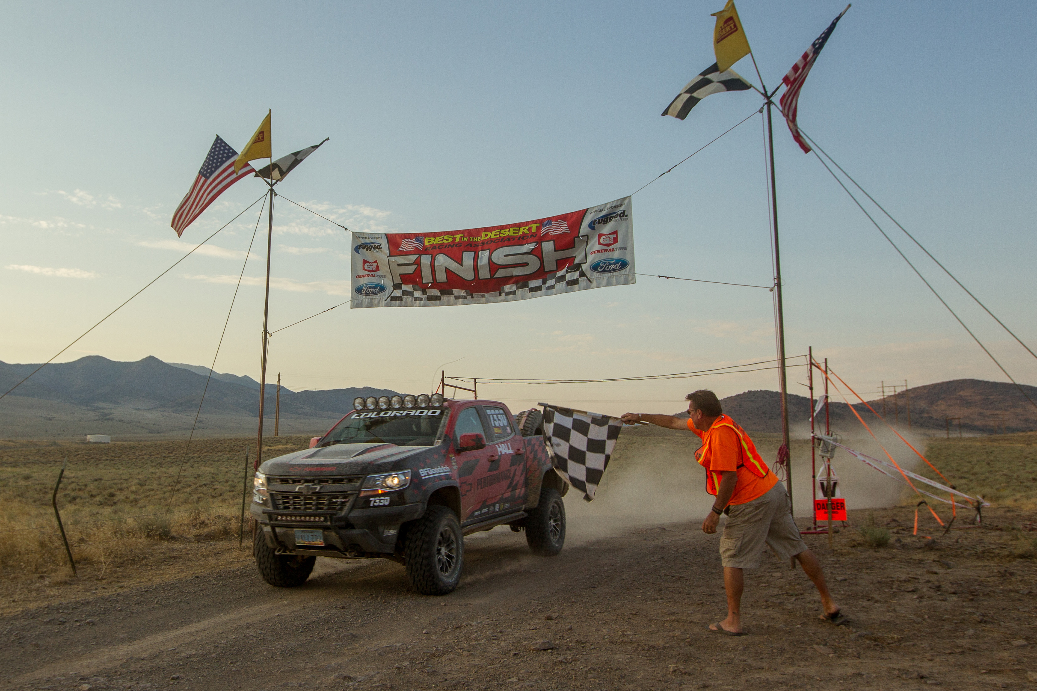 """Hall Racing Finished """"Vegas to Reno"""" in a Colorado ZR2 ..."""