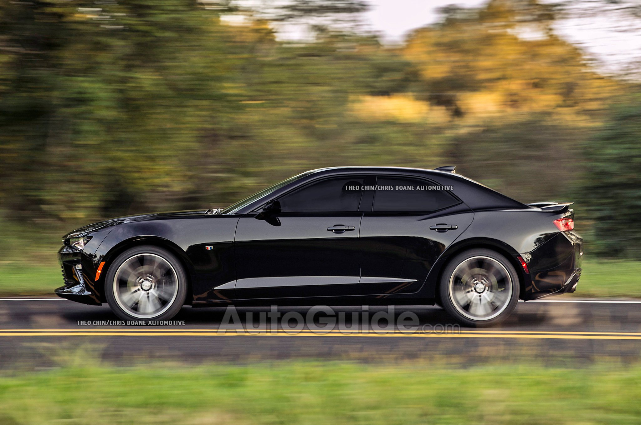 Camaro Ss Lease >> Camaro Sedan Anyone? - GM Inside News