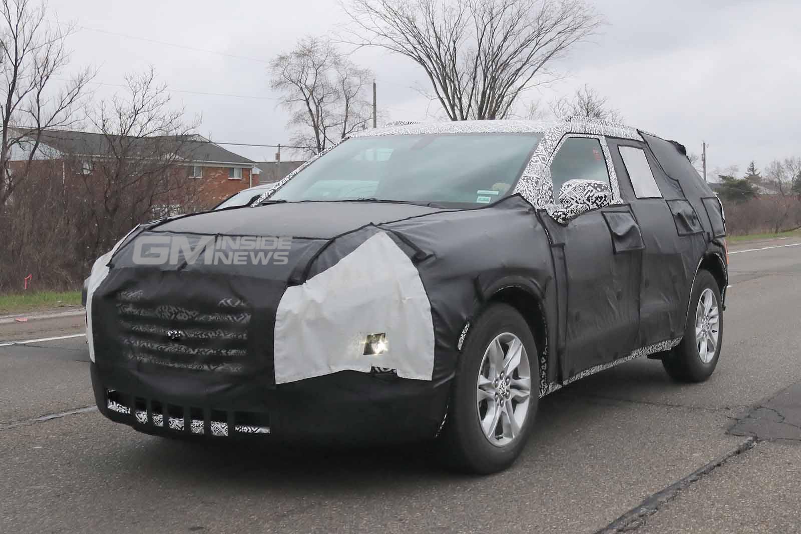 2019 Chevy Blazer Interior Spied Gm Inside News