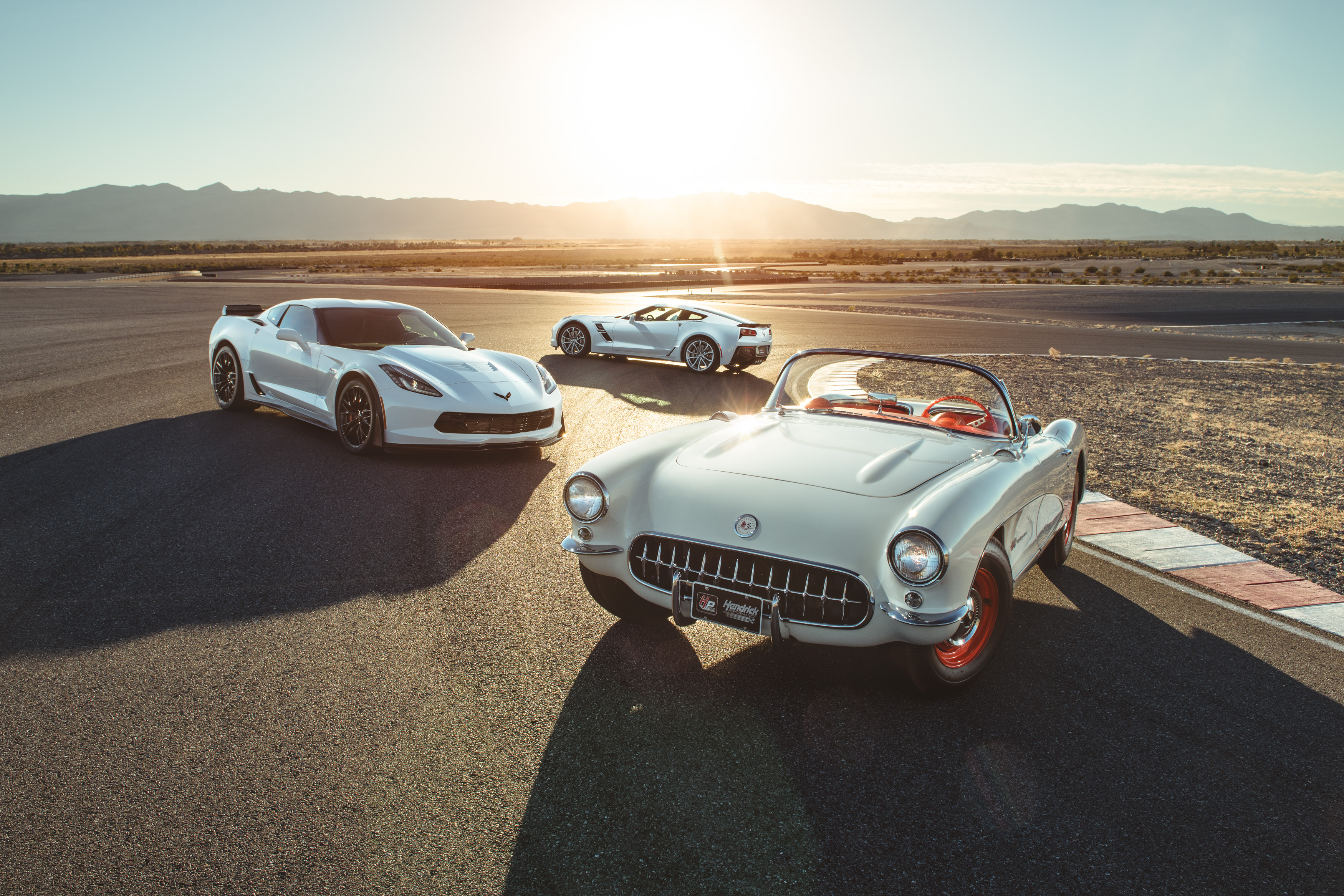 1957 Corvette 'Airbox' Roadster Introduces New Cold Air ...