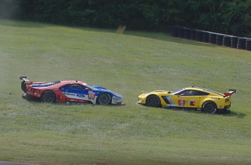 Corvette Racing Comes to Blows With Ford at VIR - GM ...