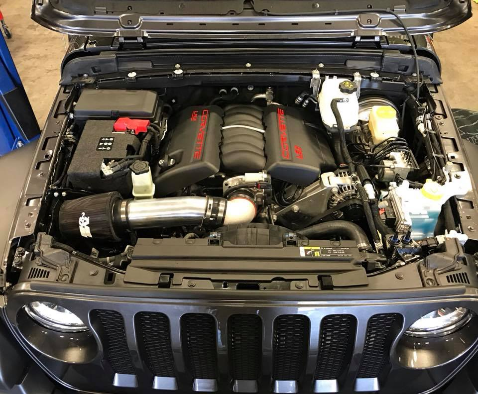 One Company Already Shoved a V8 in the New Jeep Wrangler ...