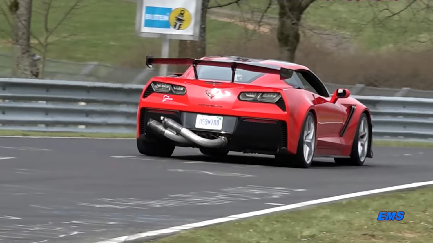 corvette zr1 reportedly underwhelms with 7 12 nurburgring