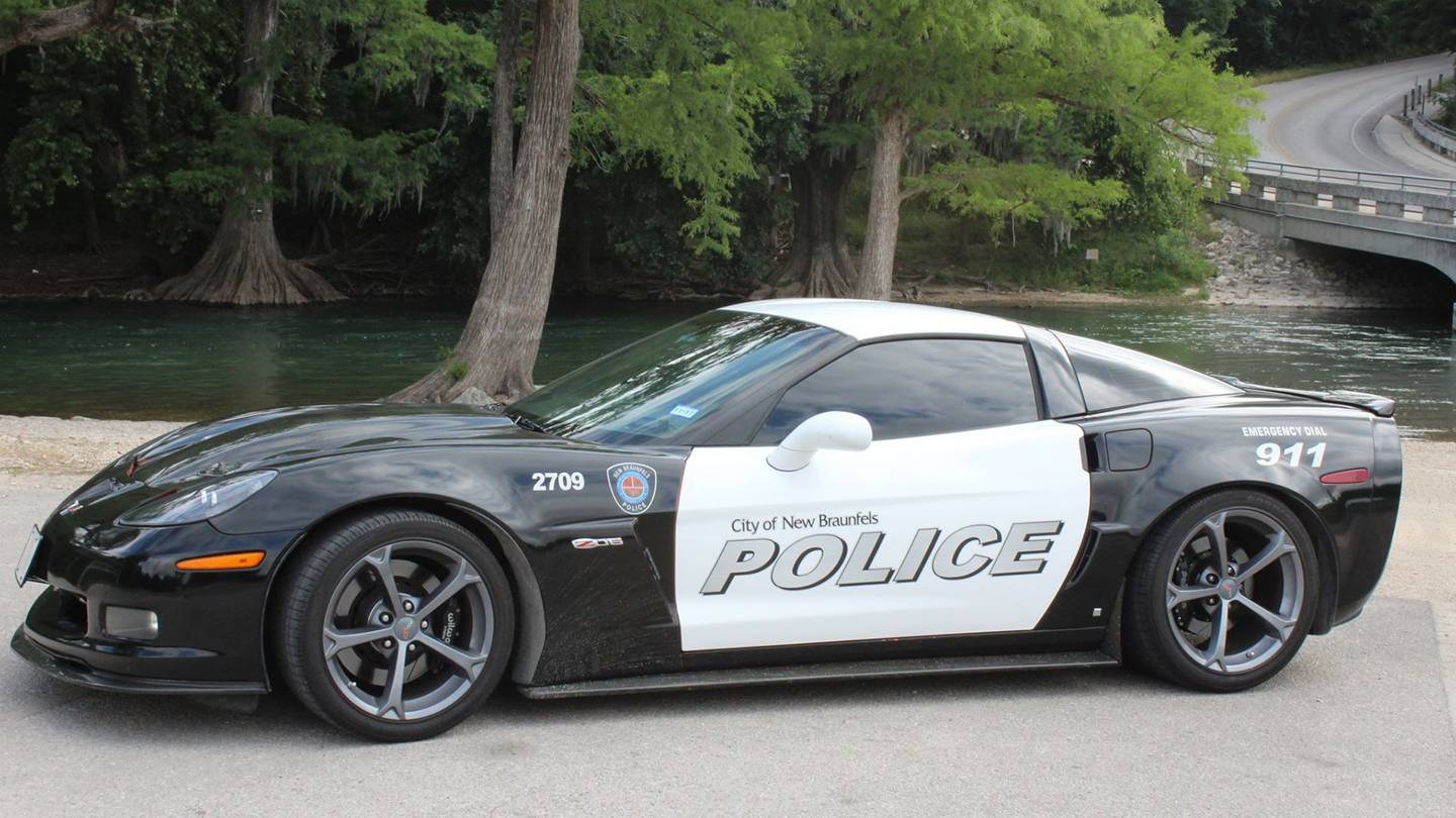 they do police cars a little different down in texas