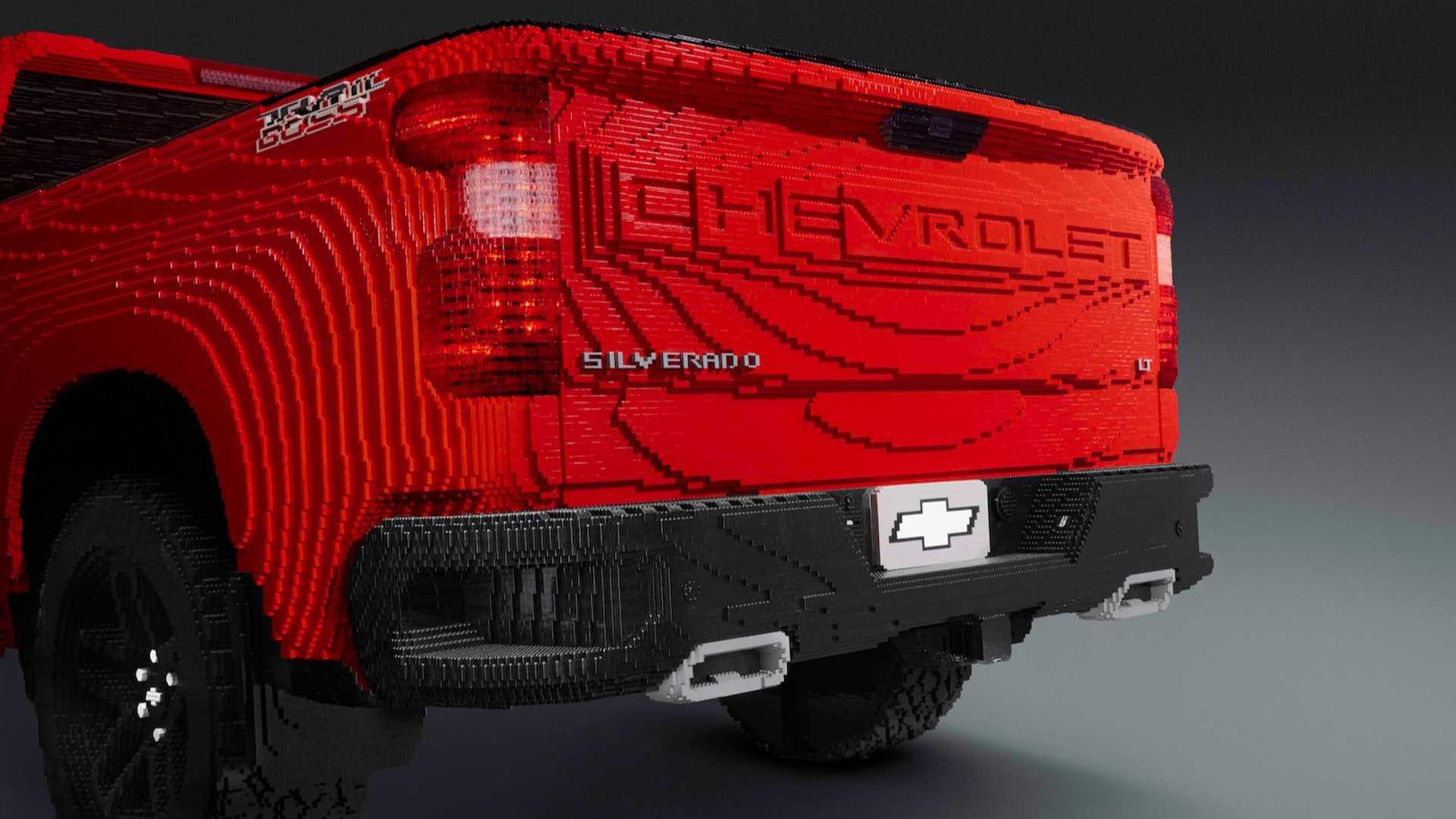 Chevrolet Builds Life-Sized LEGO Silverado - GM Inside News