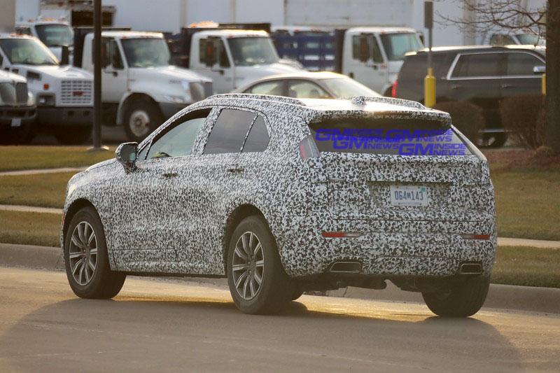 Cadillac XT4 Caught Wearing Mini-Escalade Tail Lights - GM ...
