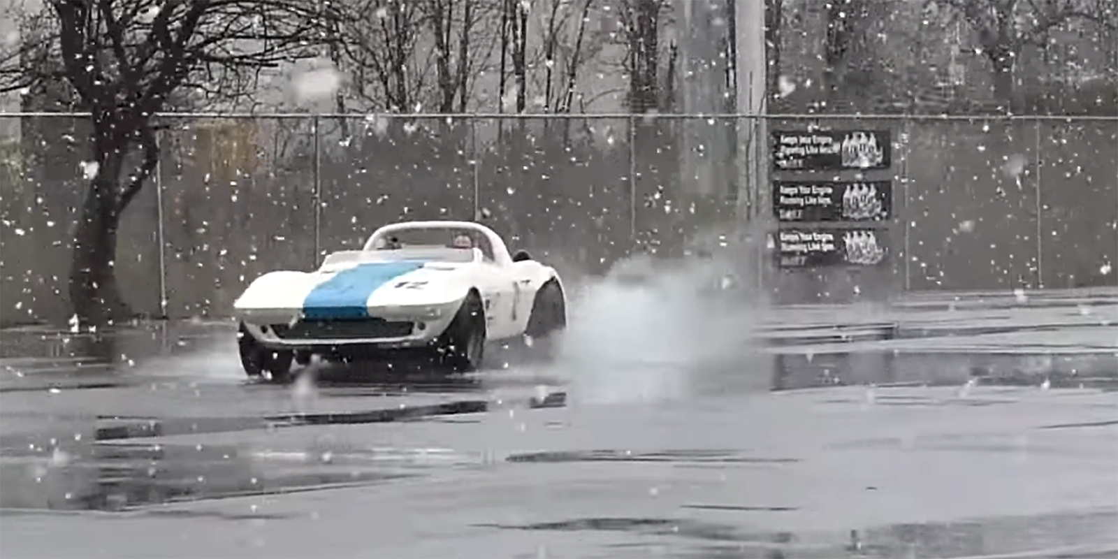 Watch An Original 63 Corvette Grand Sport In The Snow