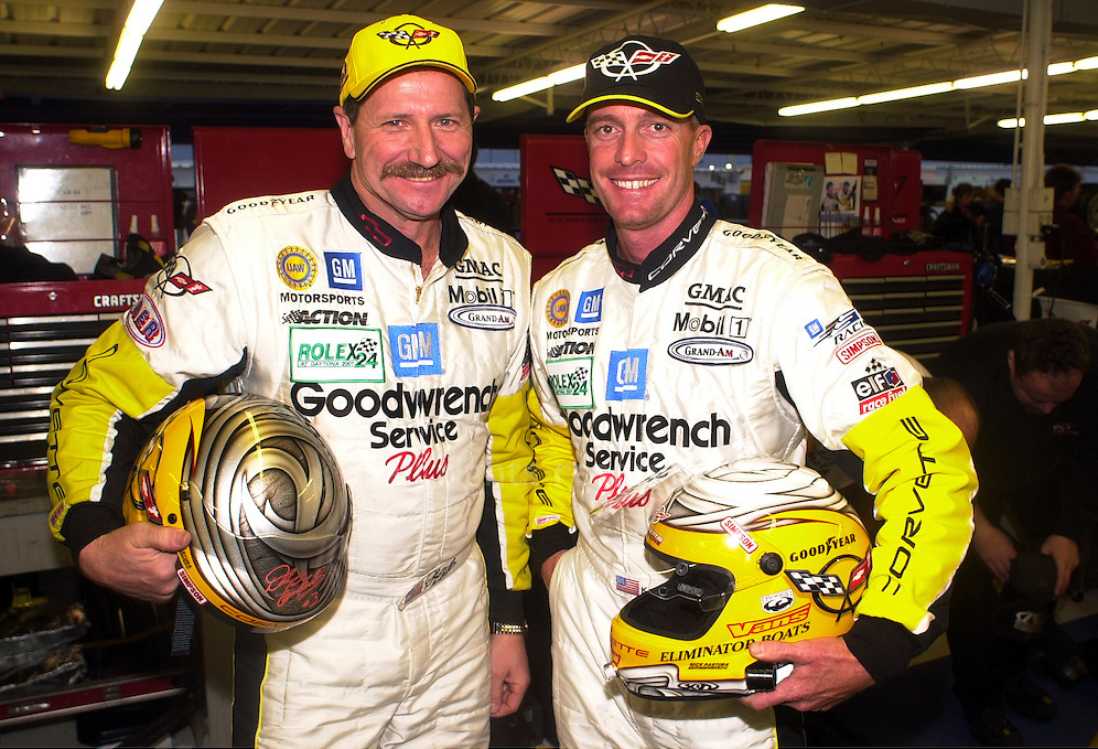 Cadillac V Series >> Throwback Thursday: Dale Earnhardt at the Rolex 24 - GM ...
