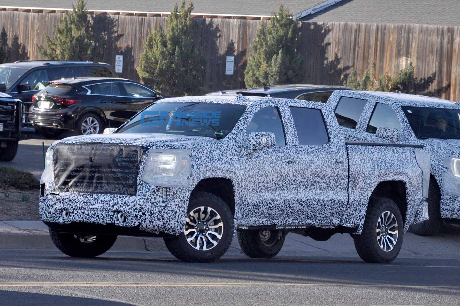 2019 GMC Sierra Trail Boss... err All-Terrain Spied - GM ...