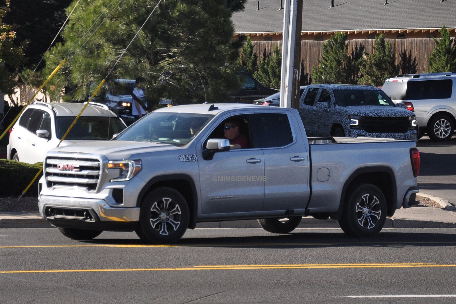 Spy Photographers Fully Expose 2019 GMC Sierra 1500 SLE ...