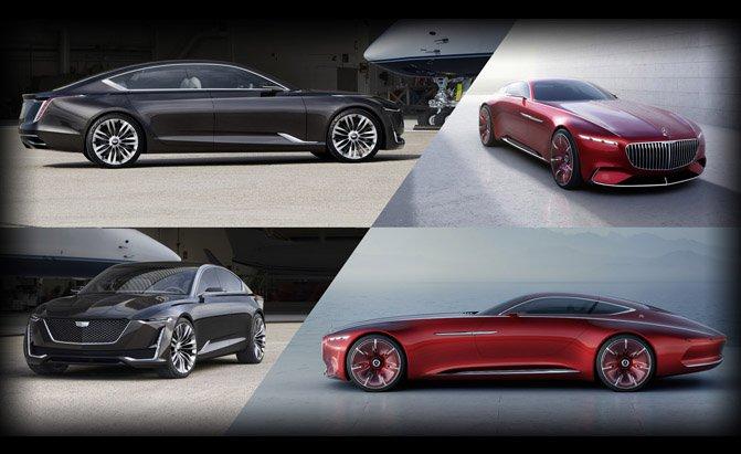 Mercedes General Motors >> Would You Rather Cadillac Escala Vs Vision Mercedes Maybach 6 Gm